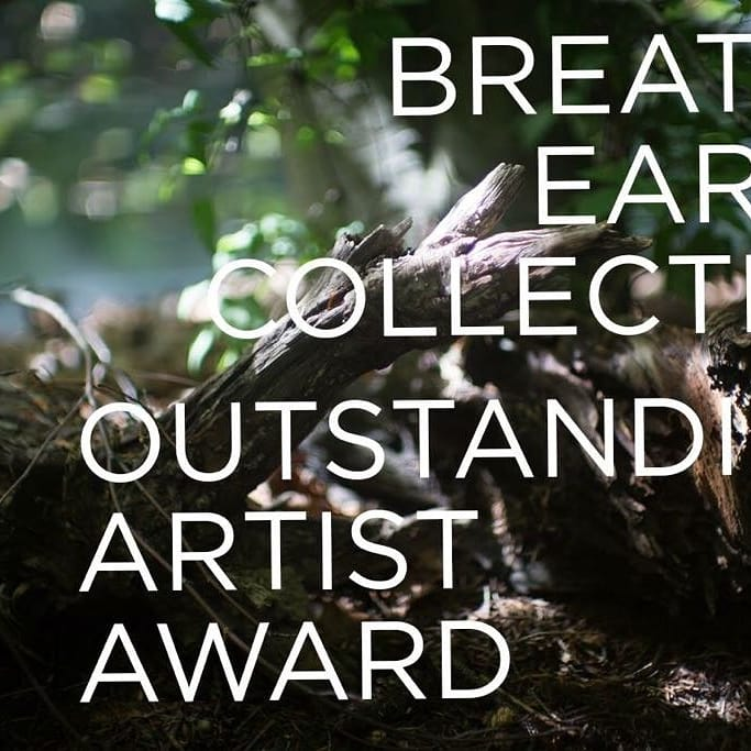 Outstanding Artist Award for Breathe Earth Collective 2018